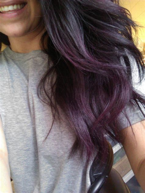 subtle colors subtle purple hair subtle purple ombre things that