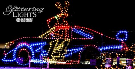 glittering lights debuts at the las vegas motor speedway