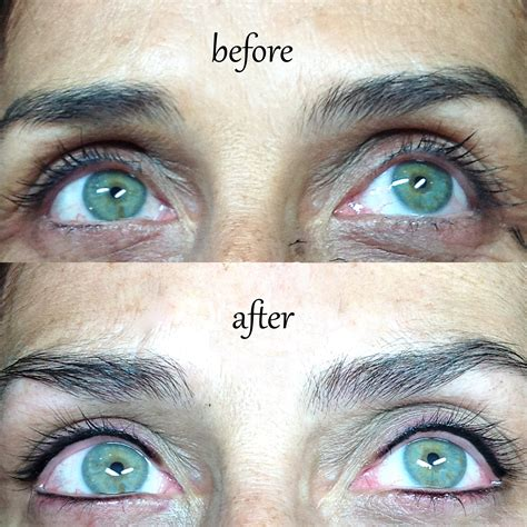 tattooed eyeliner eyeliner permanent makeup and microblading