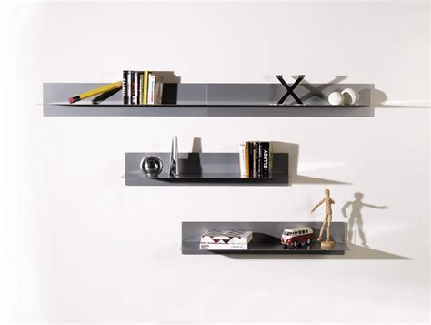 mensole muro di design mensola a muro moderna design in acciaio linea