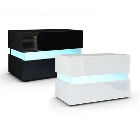 black mirrored glass high gloss bedside table cabinet 3 bedside table nightstand cabinet chest of drawers flow