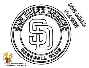 padres colors grand baseball coloring pictures mlb baseball nl free