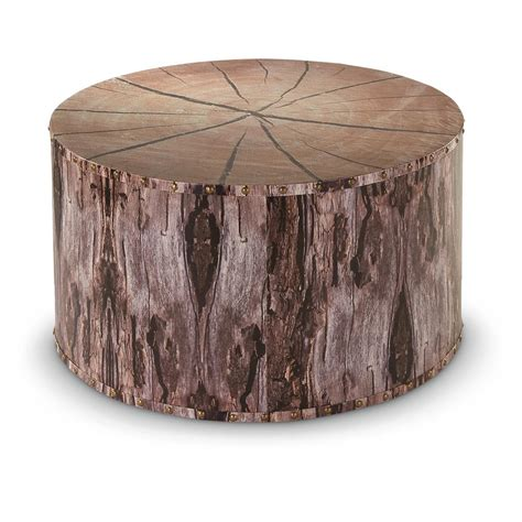Tree Stump Coffee Table Castlecreek Tree Trunk Coffee Table 664330 Living Room At Sportsman S Guide