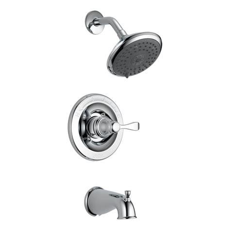 delta porter bathroom faucet delta porter monitor 14 series bath shower faucet in