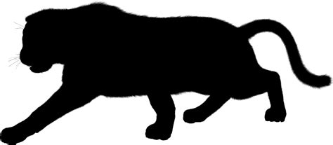 panther clip panther silhouette clipart best