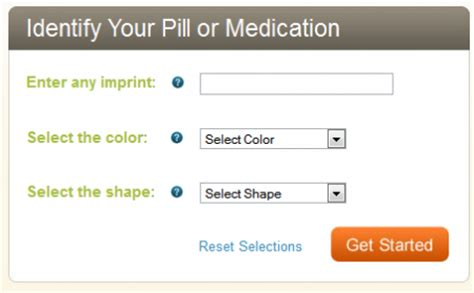 Pill Lookup Identify Pill Markings Search Engine At Search