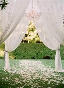 Draping For Wedding Venues Eye Catching Wedding Arbor Ideas Weddingbells