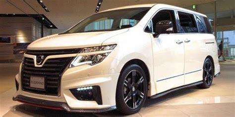 2018 nissan elgrand price specs interior exterior release