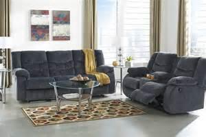 Live Room Set Buy Furniture Garek Blue Reclining Living Room Set Bringithomefurniture