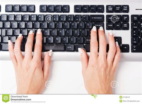 free stock photo hands over keyboard hands working on keyboard royalty free stock photography