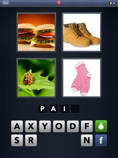 4 Pics One Word Cheats 5 Letter Words