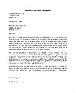 sle application letter 18 exles in pdf word