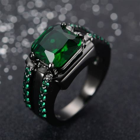 buy wholesale mens emerald ring from china mens
