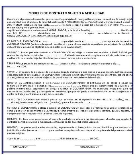 contrato de trabajo con trabajadores del servicio domestico iniciaci 243 n a la vida laboral el contrato de trabajo