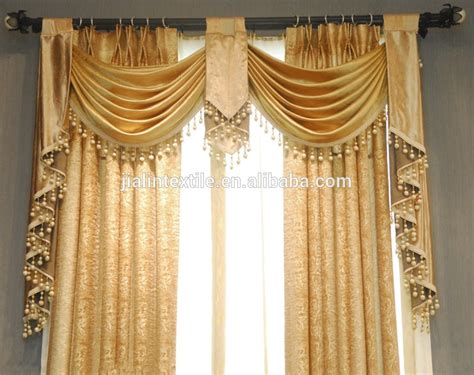 curtain trimmings fringes curtain and lshade cotton beaded long fringe trim buy