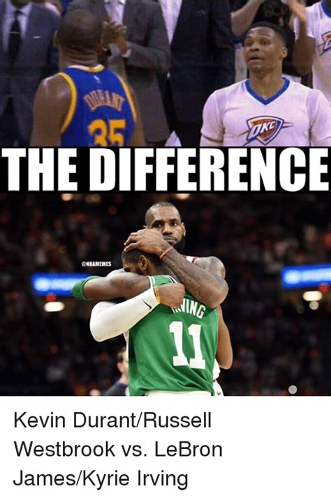 Kyrie Irving Memes - 25 best memes about kevin durant russell westbrook