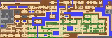 legend of zelda nes map and walkthrough overworld map of the legend of zelda ganon s revenge flickr