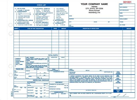 Proposals C M Amos Printing Hvac Forms