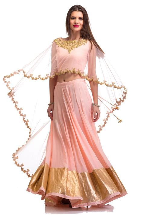 Soft Pink Cape Lehenga Set   Outfits for Sangeet   Cape
