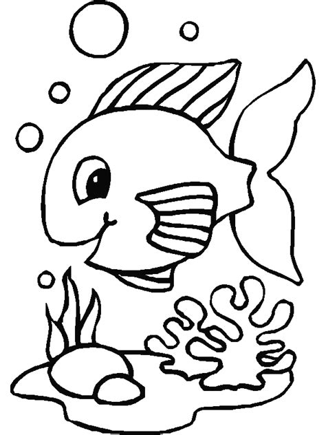 coloring page fish fish coloring pages coloringpages1001