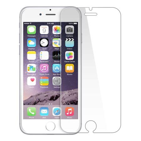 iphone 7 plus tempered glass screen protector walmart