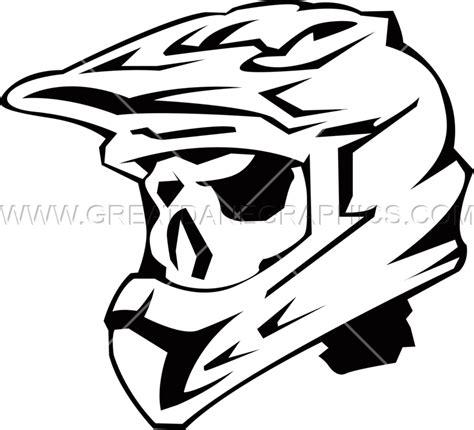 helm design program skeleton motocross helmet production ready artwork for t