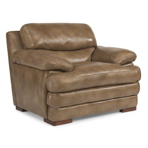dylan leather sofa flexsteel 1127 10 dylan leather chair without nailhead