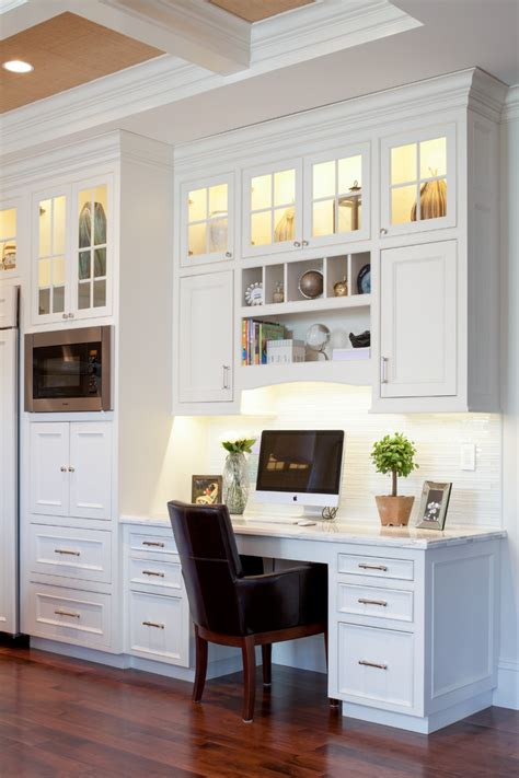 Built In Desk Ideas Graceful Built In Desk Plans Decorating Ideas In Kitchen Traditional Design Ideas With Graceful