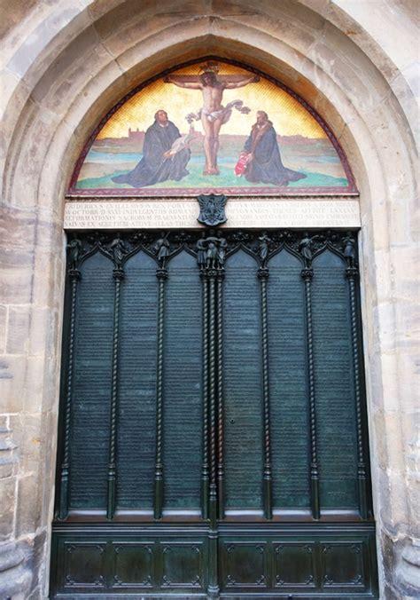 The And His Door by Doors In Wittenberg Braman S Wanderings
