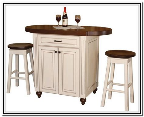 counter height kitchen table island home design ideas