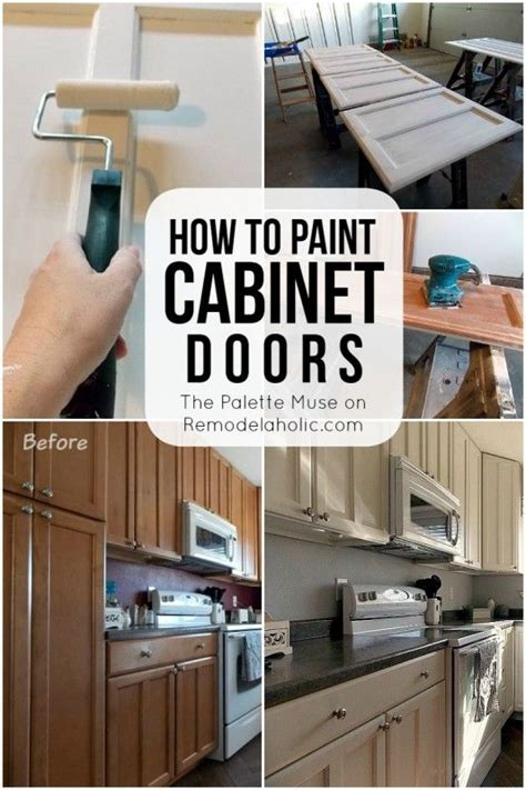 How To Clean Painted Kitchen Cabinet Doors How To Paint Cabinet Doors Satin Finish And Cabinet Knobs