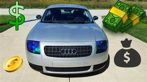 Cost Of Audi Tt by How Much Does It Cost To Own A Audi Tt