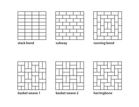 wall tile layout planner floor tile patterns plan there are many tile patterns from basketweave to herringbone
