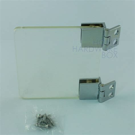 Hinges For Glass Cabinet Doors Cabinet Glass Door Cl Hinge Chrome Glass Thickness 1 4 Quot Ebay