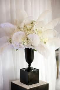 feathers for centerpieces wedding 70 chic feather wedding ideas happywedd