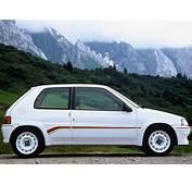 PEUGEOT 106 Rallye Specs  1993 1994 1995 1996