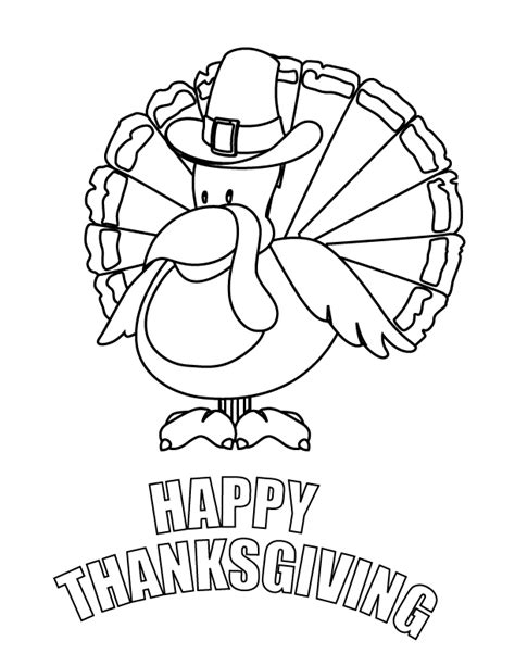 happy thanksgiving free printable coloring pages