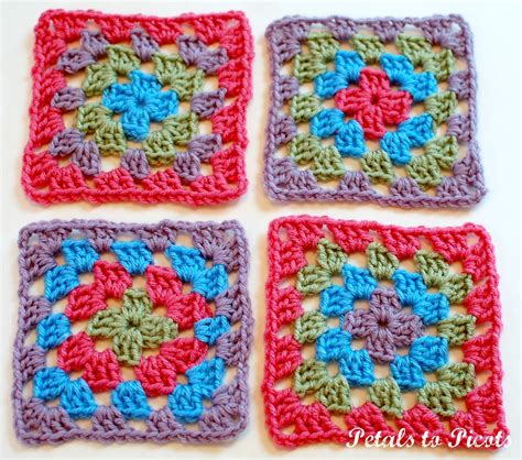 pattern crochet granny square how to crochet a classic granny square granny square