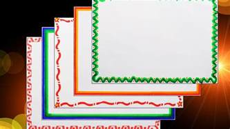 how to decorate borders of project files 5 attractive