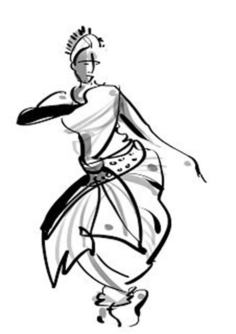 folk dances  india coloring pages indian classical