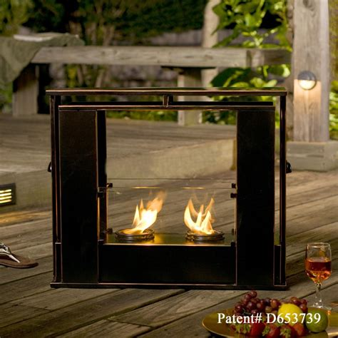 portable patio fireplace southern enterprises sei portable indoor