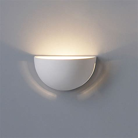 Ceramic Wall Sconce 9 5 Quot Clean Bowl Ceramic Wall Sconce W Side Slits