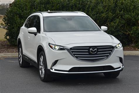 2018 mazda cx 9 2018 mazda cx 9 awd signature review test drive