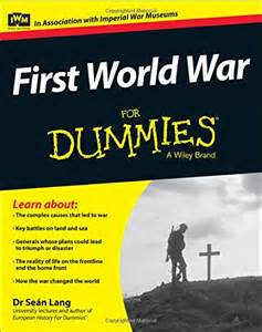book review world war for dummies ww1 centenary