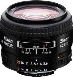 nikon af nikkor 28mm f/2.8d: digital photography review