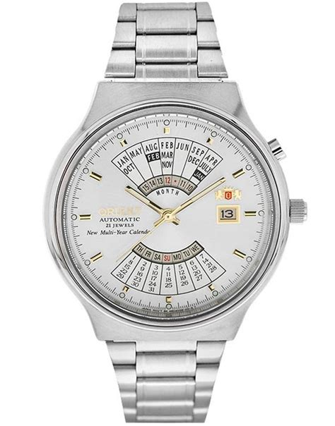 Orient Multi Year Calendar ceasuri orient multi year calendar feu00002ww b b collection