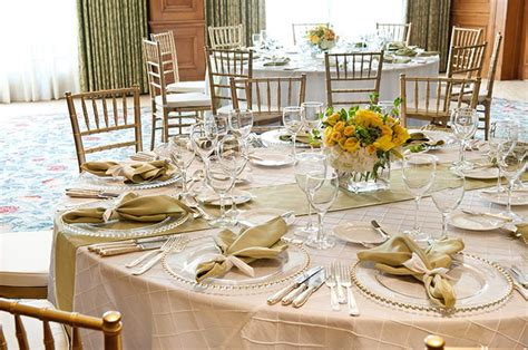 a beautiful afternoon wedding table set up simple and elegant yelp