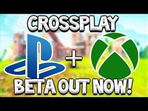 fortnite cross platform xbox & ps4 beta crossplay out