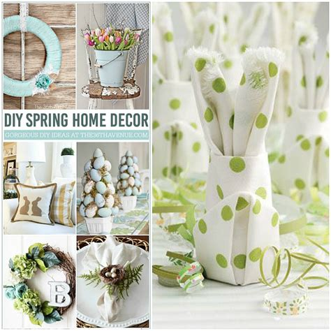 Diy Spring Home Decor | diy spring decorating ideas interior design