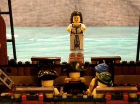 lego boat sinking videos lego pirates sinking the ship youtube